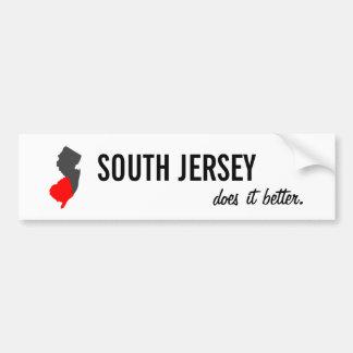 """Autocollant De Voiture """"Le Jersey du sud il améliore"""" l'adhésif pour"""