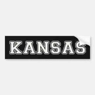 Autocollant De Voiture Le Kansas