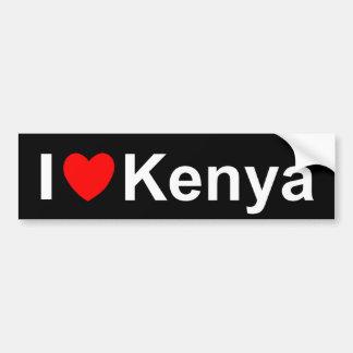 Autocollant De Voiture Le Kenya