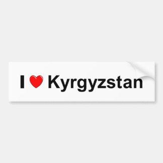 Autocollant De Voiture Le Kirghizistan