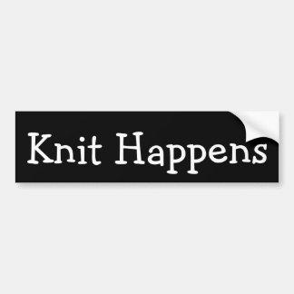 Autocollant De Voiture Le Knit se produit