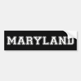 Autocollant De Voiture Le Maryland