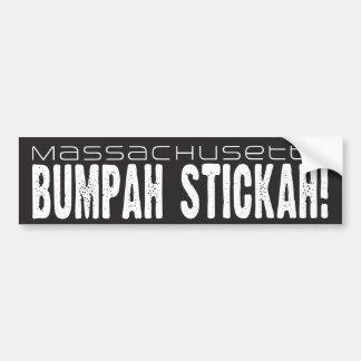 Autocollant De Voiture Le Massachusetts Bumpah Stickah ! Adhésif pour