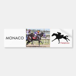 Autocollant De Voiture Le Monaco et confédéré