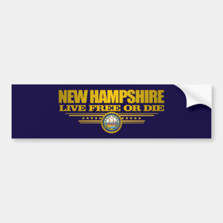 Autocollant De Voiture Le New Hampshire (PS)