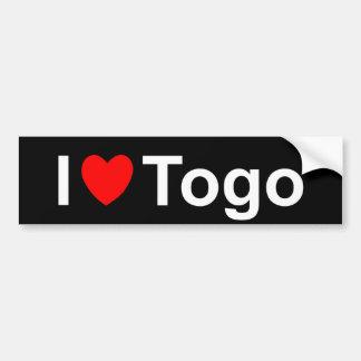 Autocollant De Voiture Le Togo