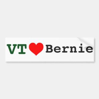 Autocollant De Voiture Le Vermont aime l'adhésif pour pare-chocs de