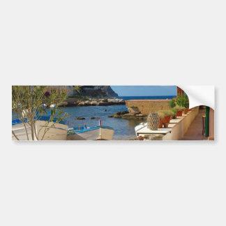 Autocollant De Voiture Le village de pêche sicilien