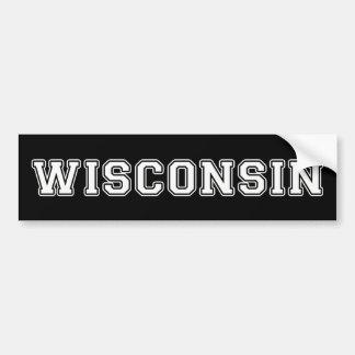 Autocollant De Voiture Le Wisconsin