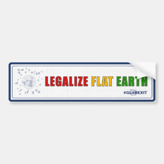 Autocollant De Voiture Légalisez l'adhésif pour pare-chocs plat de la