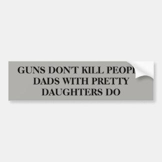 Autocollant De Voiture Les armes à feu ne tuent pas des personnes…