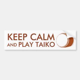 Autocollant De Voiture Les cadeaux de Taiko gardent la coutume de tambour