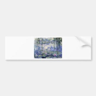 Autocollant De Voiture Les Nympheas de Claude Monet (Water Lilly)