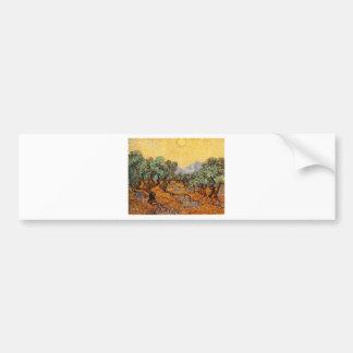 Autocollant De Voiture Les oliviers de Vincent Van Gogh (Olives trees)