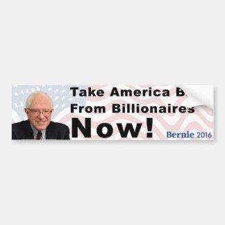 Autocollant De Voiture Les ponceuses de Bernie rapportent l'adhésif pour
