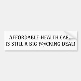 Autocollant De Voiture Les soins de santé abordables sont toujours une