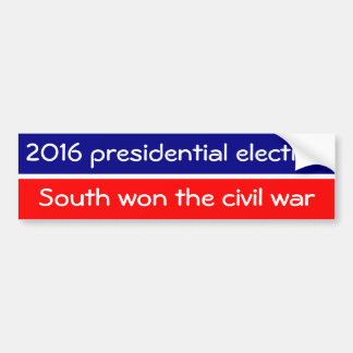 Autocollant De Voiture Les sud ont finalement gagné la guerre civile