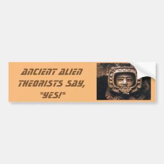 Autocollant De Voiture Les théoriciens étrangers antiques, disent oui