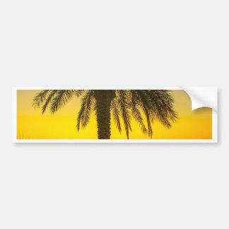 Autocollant De Voiture Lever de soleil de palmier