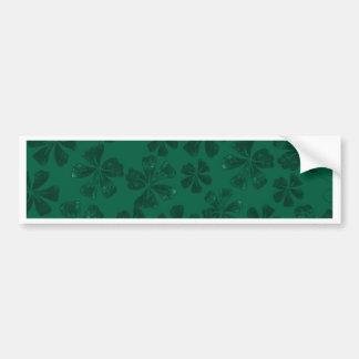 Autocollant De Voiture lflowers verts