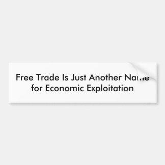 Autocollant De Voiture Libre échange
