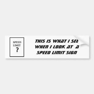 autocollants stickers pour voiture limitation vitesse. Black Bedroom Furniture Sets. Home Design Ideas