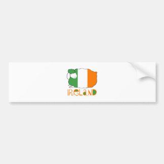 Autocollant De Voiture L'Irlande