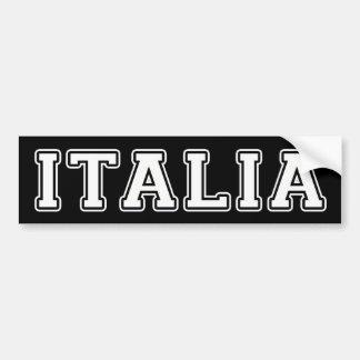 Autocollant De Voiture L'Italie