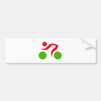 Autocollant De Voiture Logo frais de recyclage