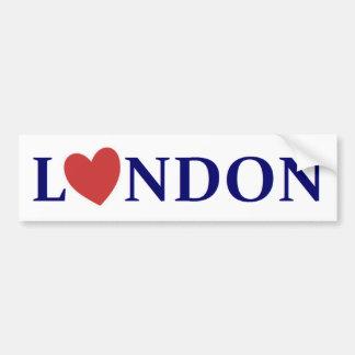Autocollant De Voiture London love