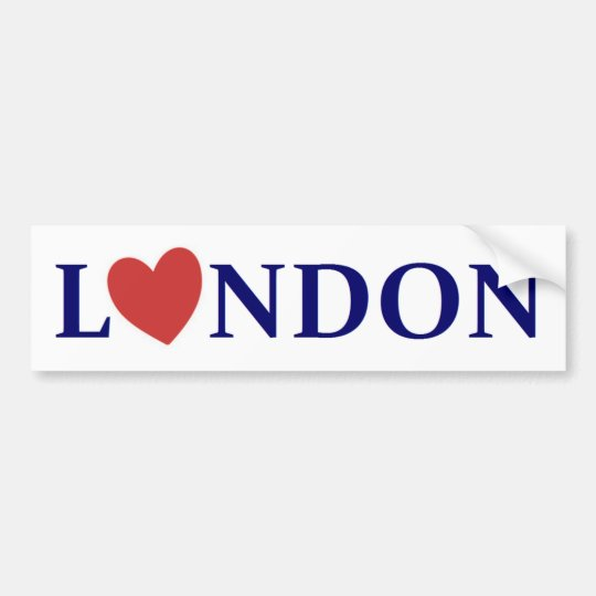 Autocollant De Voiture London love