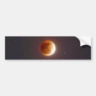 Autocollant De Voiture Lune de sang d'éclipse lunaire