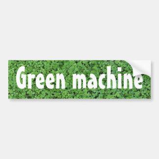 Autocollant De Voiture Machine verte actionnée par biodiesel