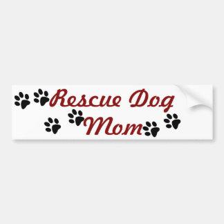 Autocollant De Voiture Maman de chien de délivrance
