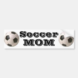 Autocollant De Voiture Maman du football - adhésif pour pare-chocs