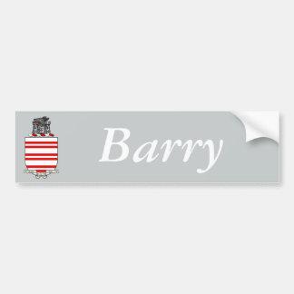 Autocollant De Voiture Manteau de Barry des bras