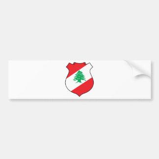 Autocollant De Voiture manteau d'emblème de شعارلبنان des bras libanais