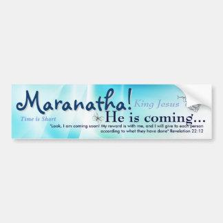 Autocollant De Voiture Maranatha