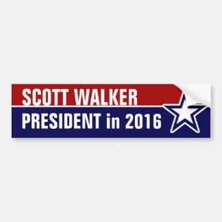Autocollant De Voiture Marcheur de Scott en 2016
