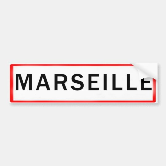 AUTOCOLLANT DE VOITURE MARSEILLE