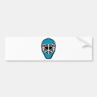 Autocollant De Voiture Masque d'hockey
