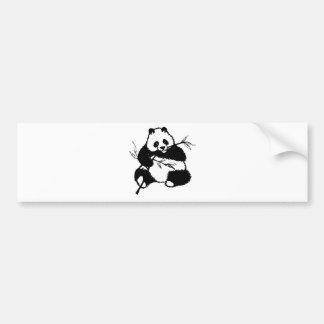 Autocollant De Voiture Mastication du panda