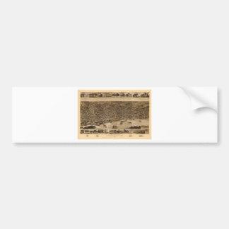 Autocollant De Voiture Memphis Tennessee 1887