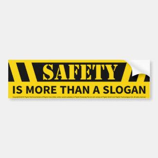 Autocollant De Voiture Message de sécurité