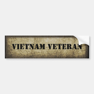 Autocollant De Voiture Militaires de vétéran du Vietnam