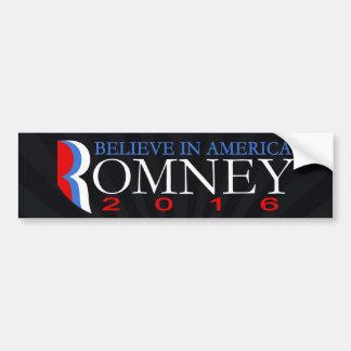 Autocollant De Voiture Mitt Romney 2016 politiques républicains