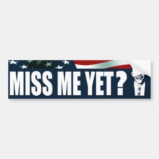 Autocollant De Voiture Mlle Me Yet d'Obama ?