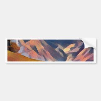 Autocollant De Voiture moderne, dadaism, numérique, peinture, colorée,