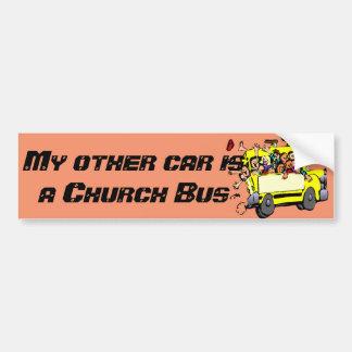 """Autocollant De Voiture """"Mon autre voiture est adhésif pour pare-chocs"""