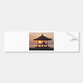 Autocollant De Voiture Moring en île de Bali